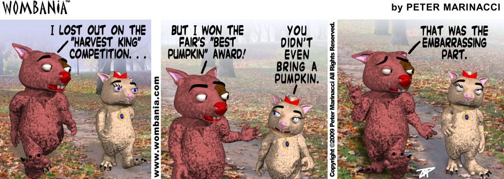 Harvest King Pumpkin