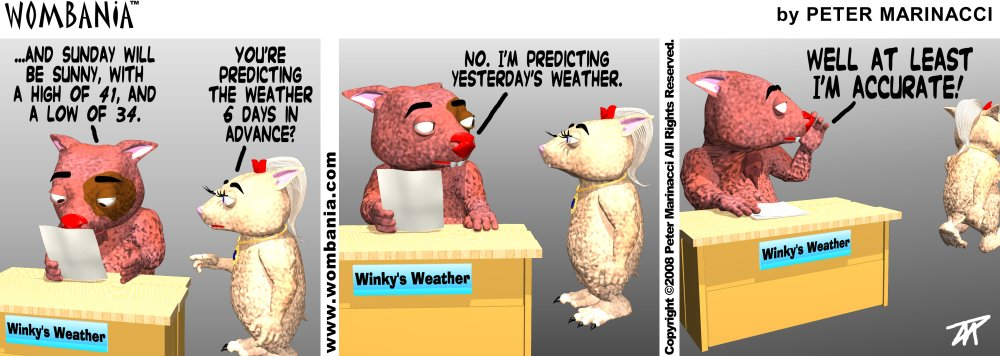 Winky's Weather Forecasting