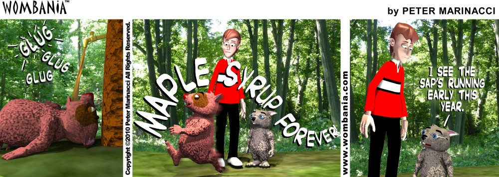 Maple Syrup Forever