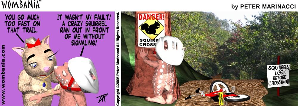 Danger Zone Squirrels