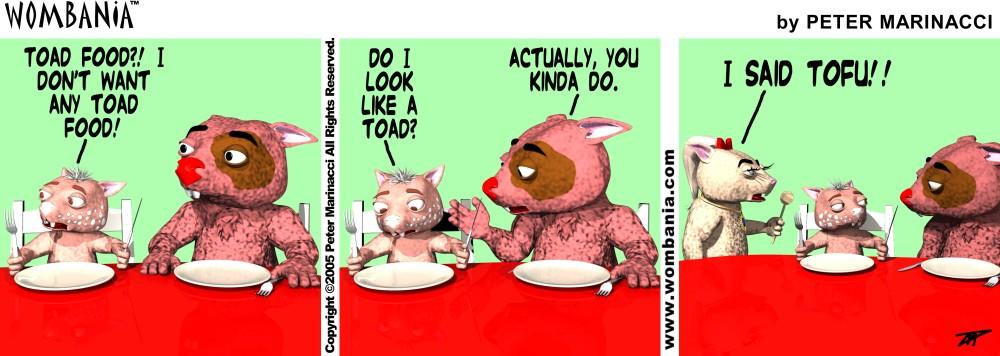Tofu Toad Food