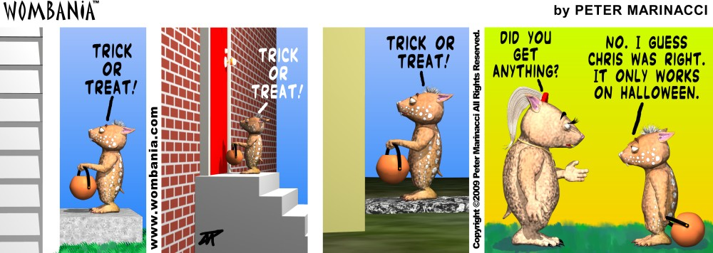 Summer Trick or Treating