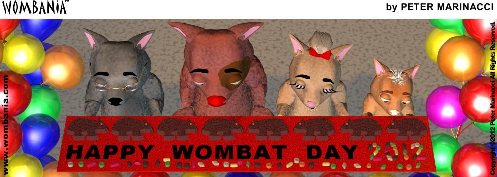 Wombat Day 2012