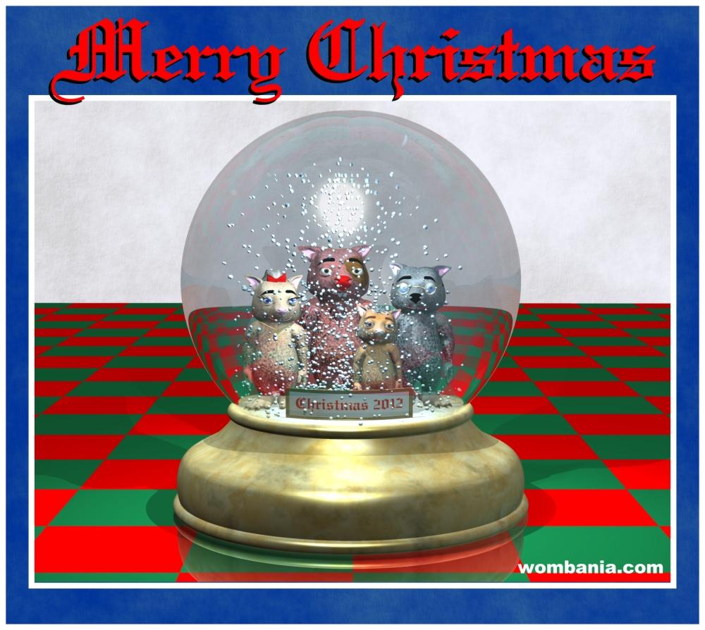 Wombania Christmas 2012