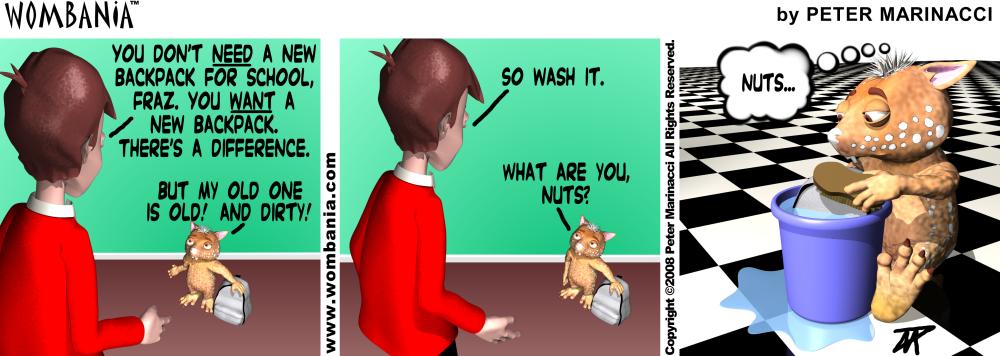 Need Want Wash