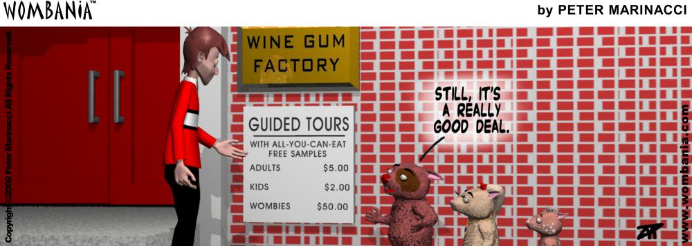 Wine Gum Factory Tour