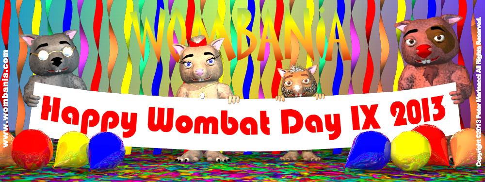 Wombat Day 2013
