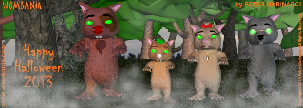 Wombie Zombies Halloween