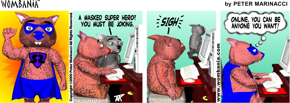 Online Super Hero