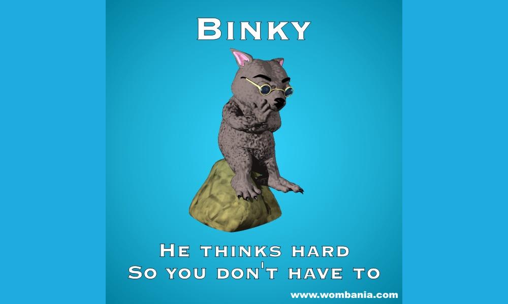Binky The Thinker