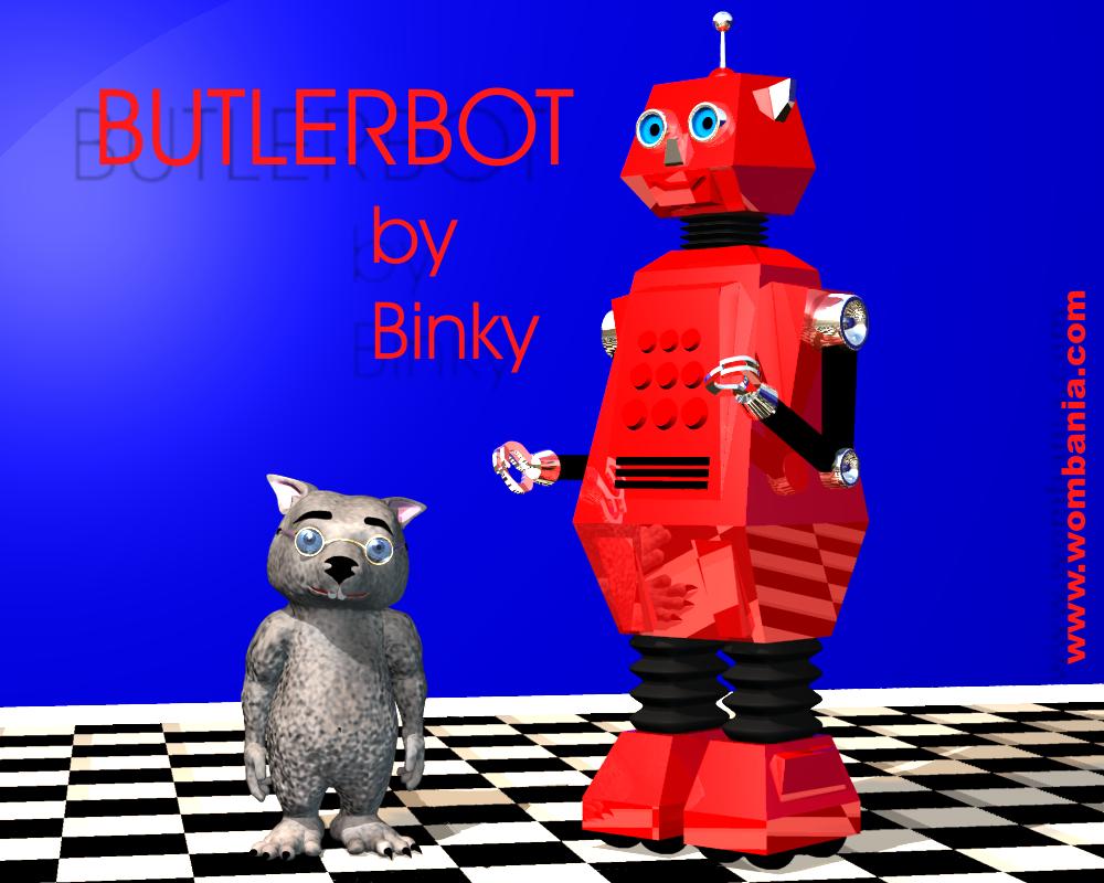 ButlerBot by Binky
