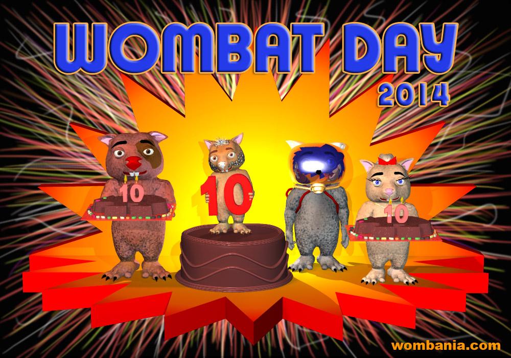 Wombat Day 2014
