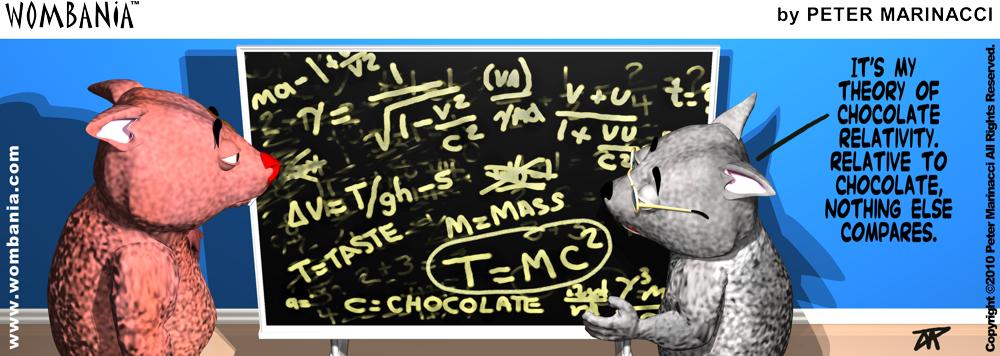 Chocolate Relativity