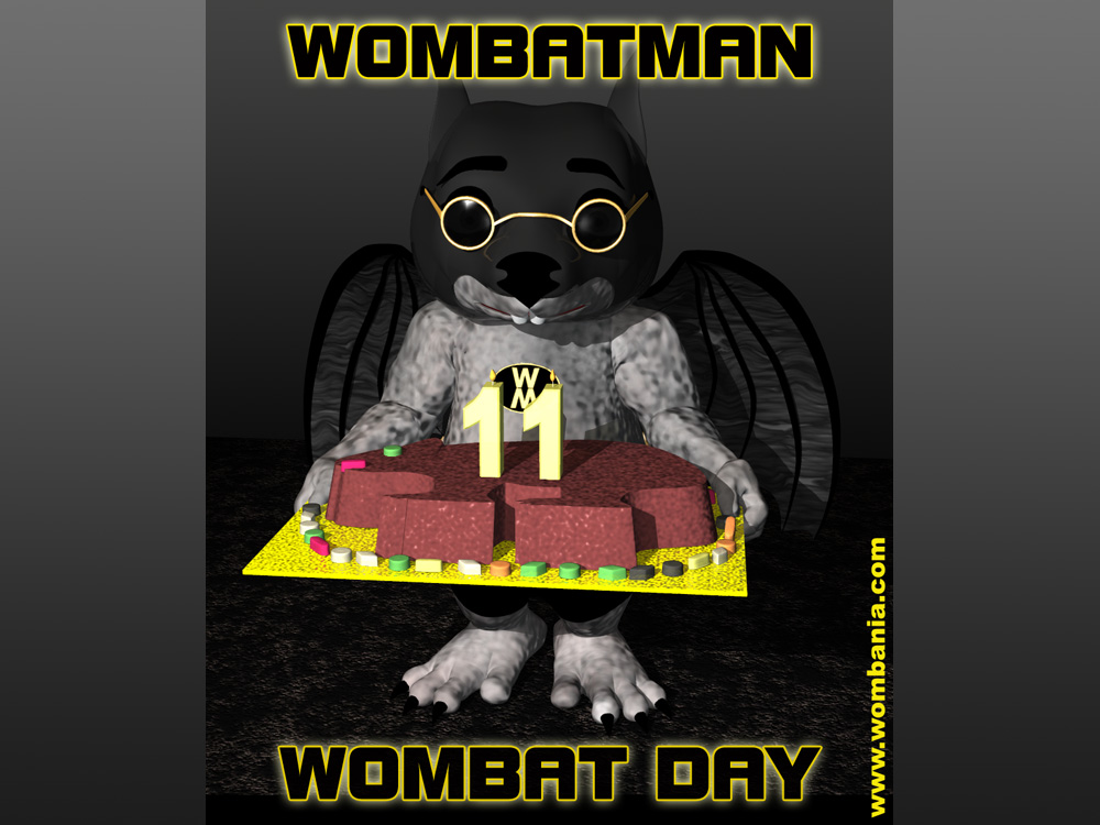 Wombat Day with Wombatman