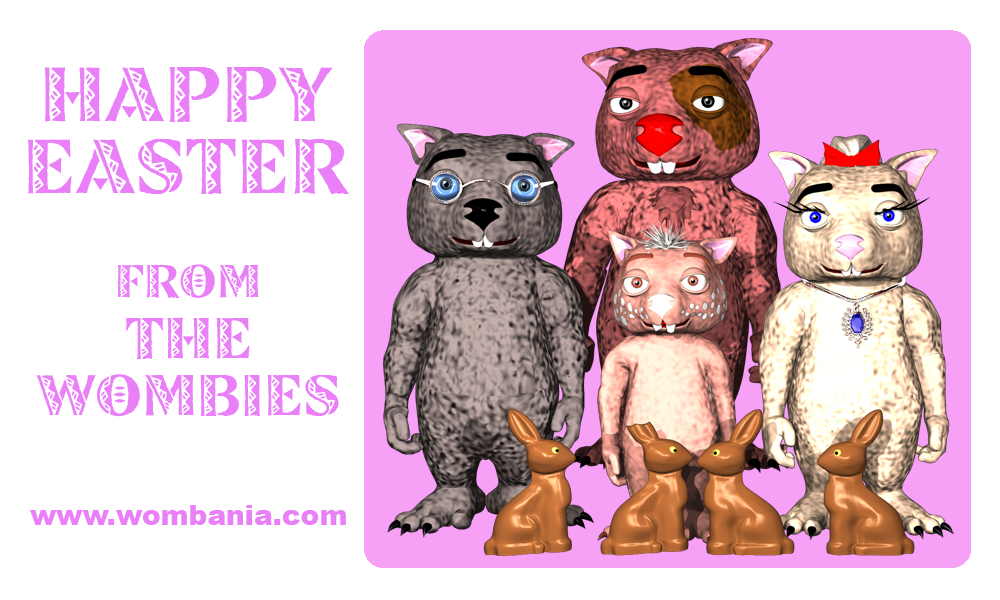 Wombie Easter 2016