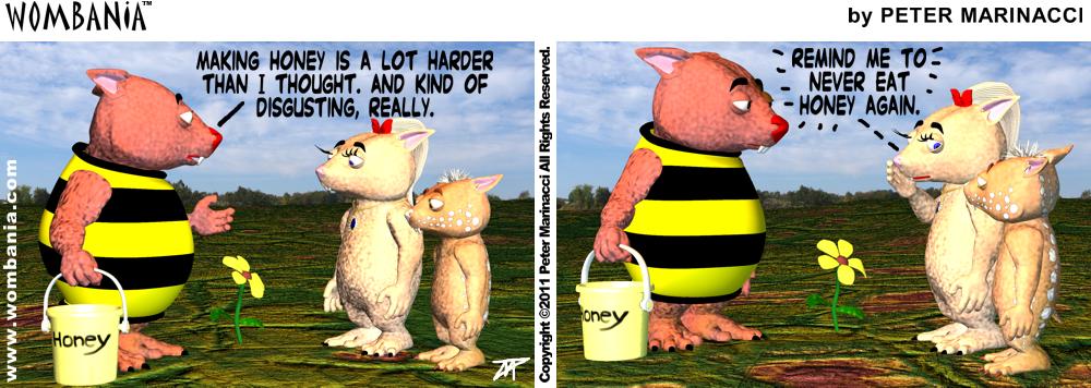 Honey Bee Winky