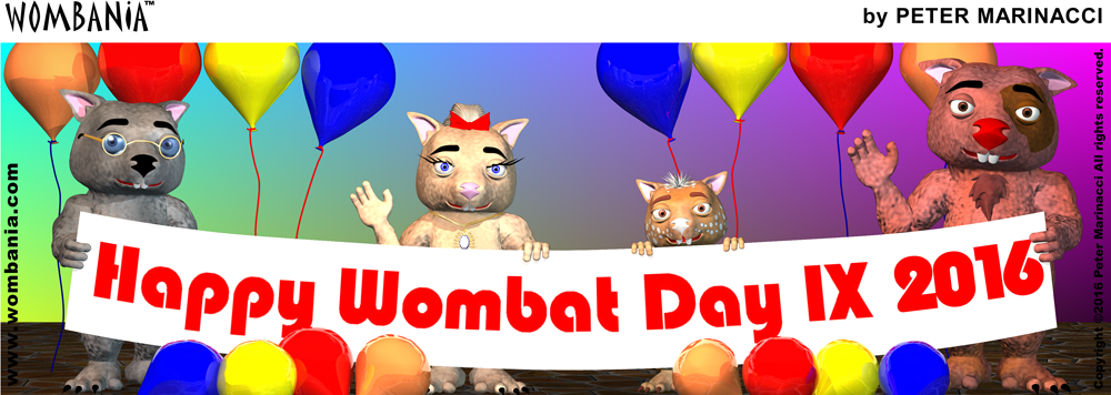 Wombat Day 2016