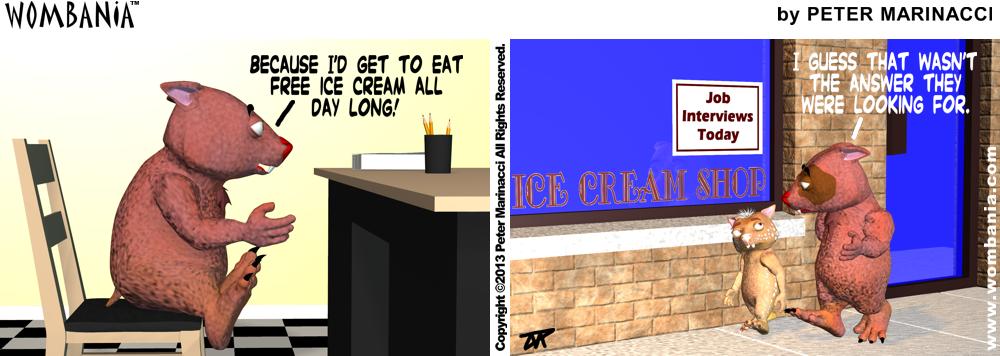 Ice Cream Dream Job