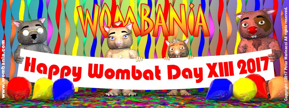 Wombat Day 2017