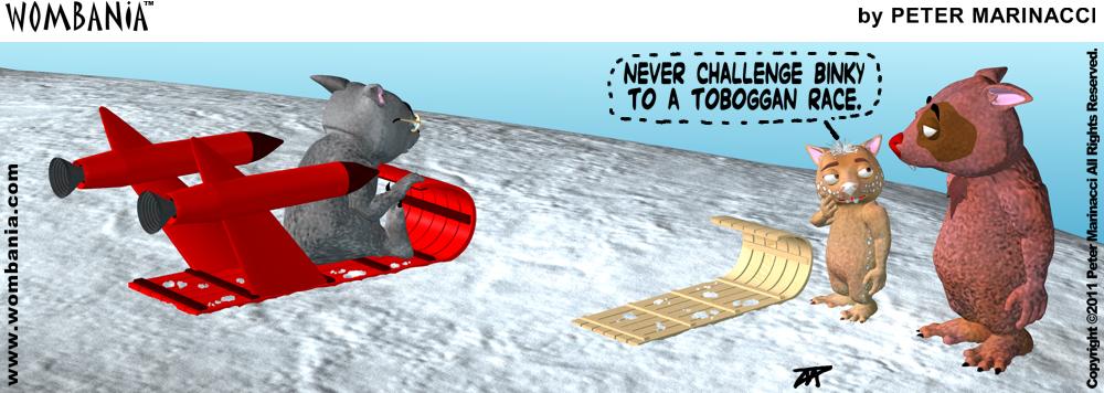 Tobaggan Challenge