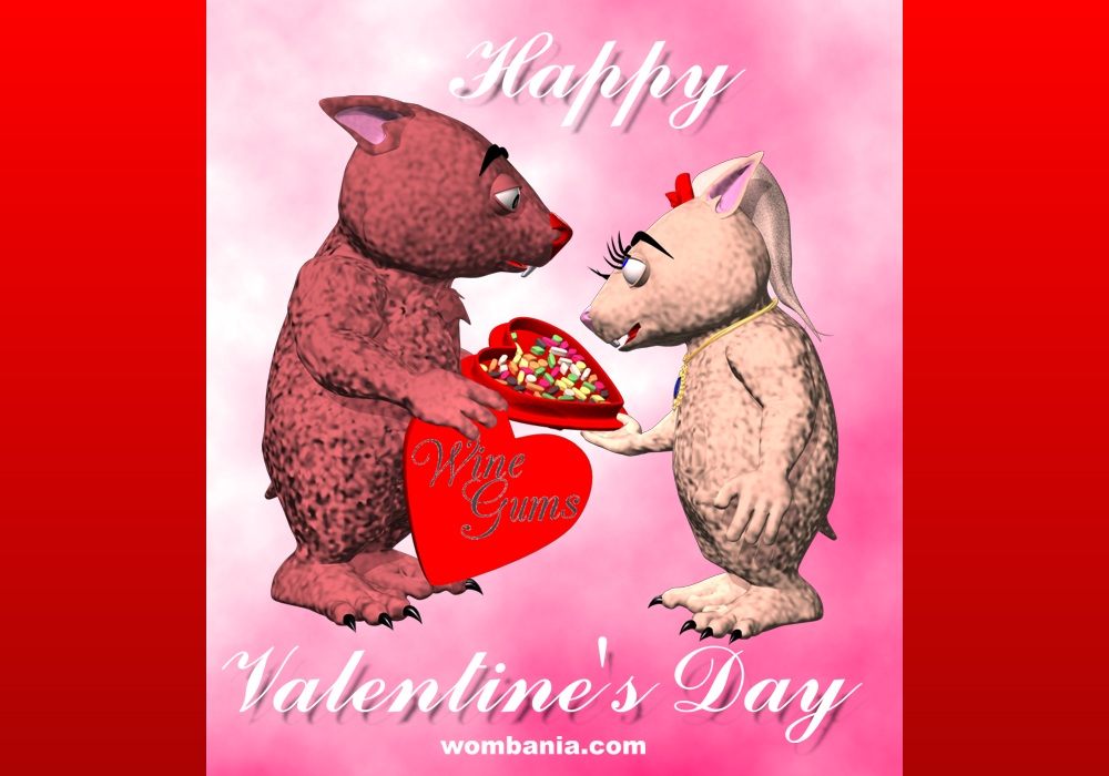 Happy Wombie Valentine's Day