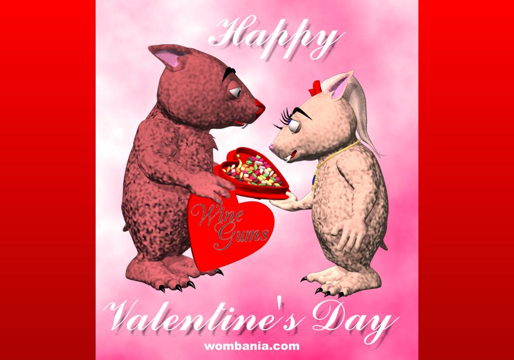 Happy Wombie Valentine's Day