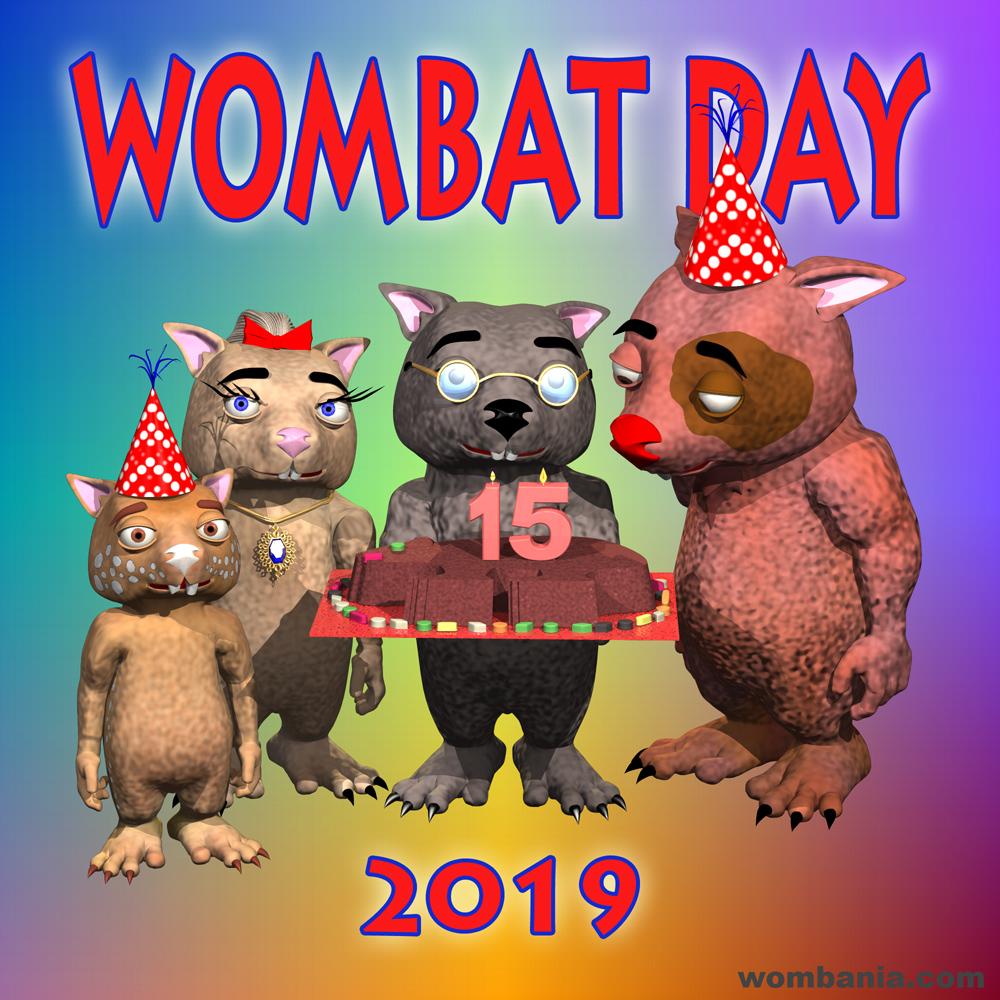 Wombat Day 2019