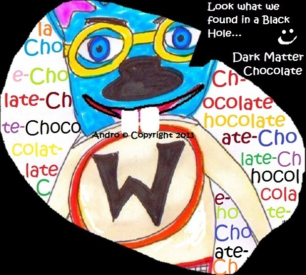 Dark Matter Chocolate by Andro