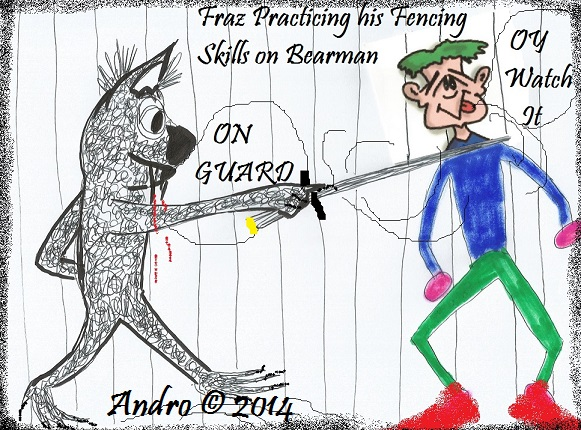 Fencing Fraz by Andro