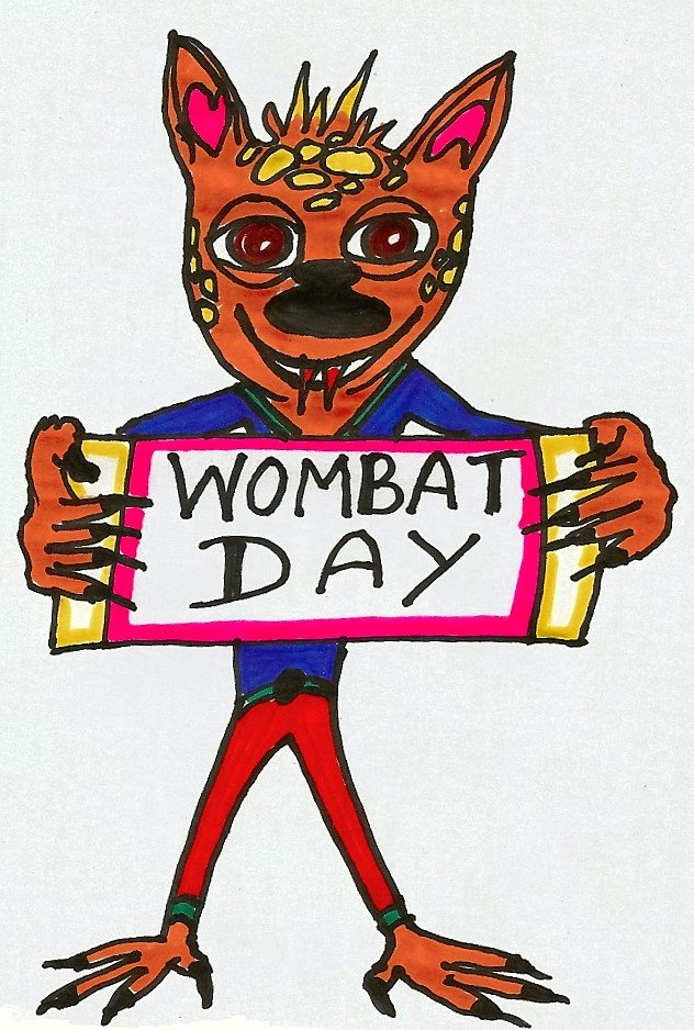 Wombat Day Fraz 2015 by Andro