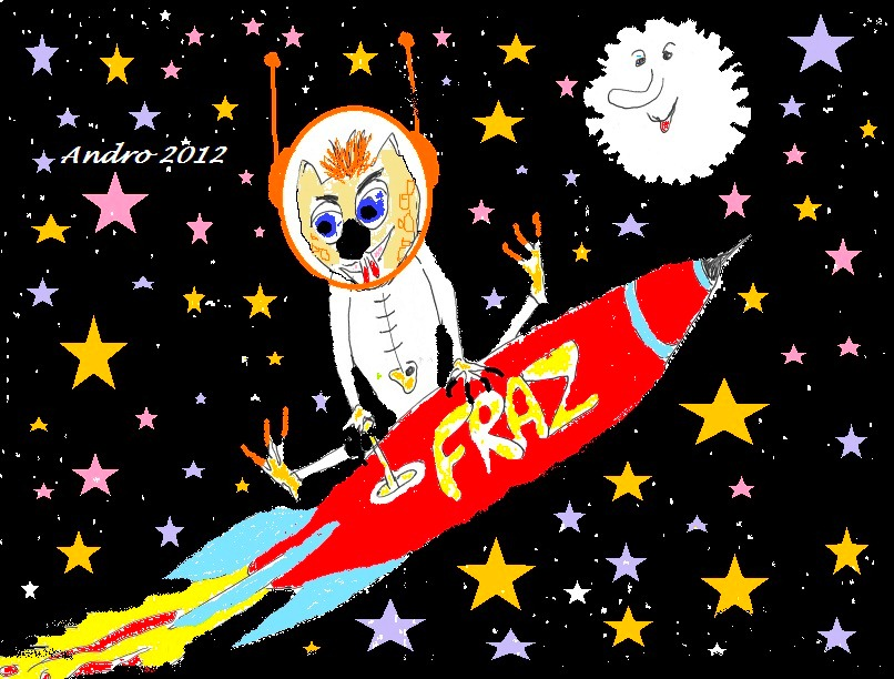 Fraz in Space by Androgoth