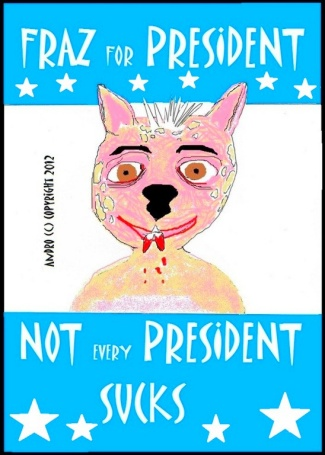 Fraz For President by Androgoth