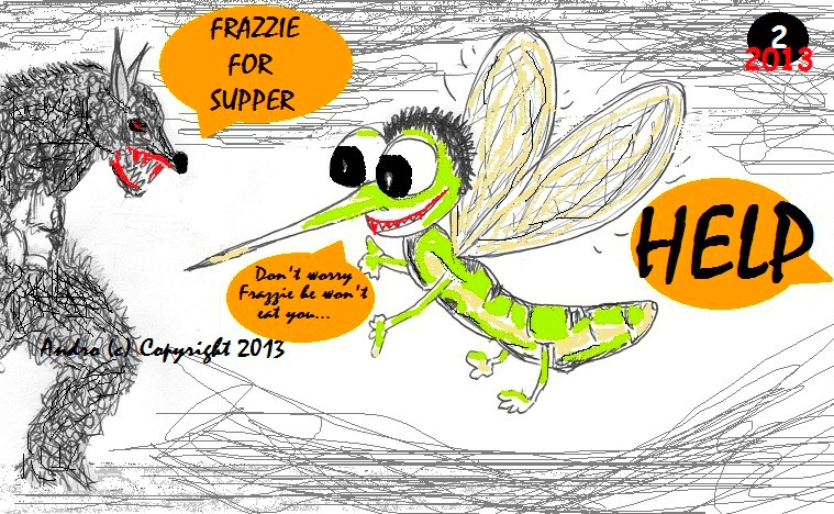 Frazzie For Supper by Androgoth