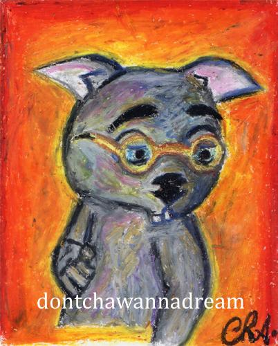 Binky Portrait by Cha