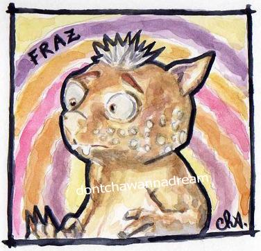 Fraz Portrait by Cha