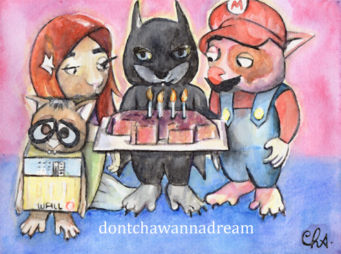 Wombat Day 2012 by Cha