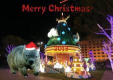 Merry Christmas Chewbacca 2013 by Chieko