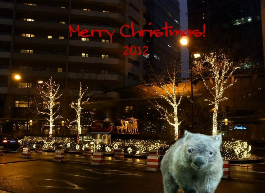 Merry Christmas Chewbacca by Chieko