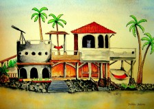 Binky's Beach Hacienda by Debbie Adams