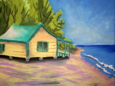 Binky's Beach House by Debbie Adams