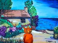 Fraz's Island Beach House by Debbie Adams