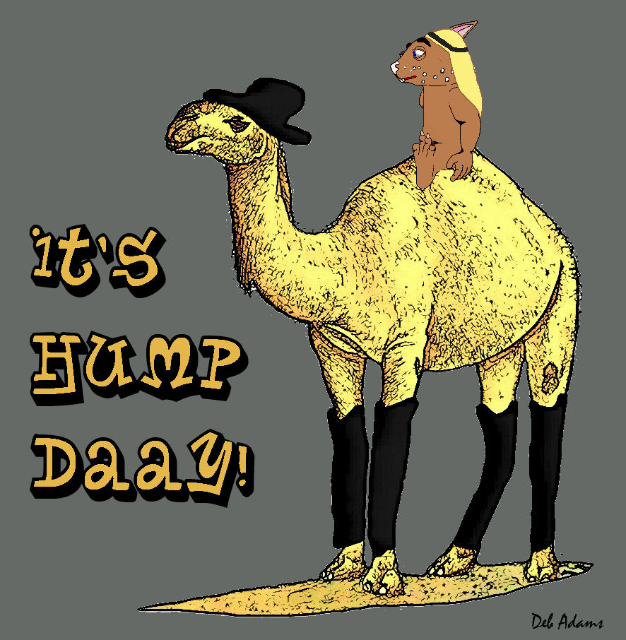 Camel Day by Debbie Adams