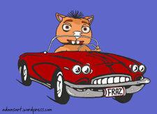 Fraz Corvette by Debbie Adams