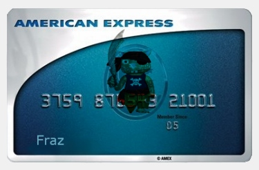 Fraz Credit Card by Debbie Adams