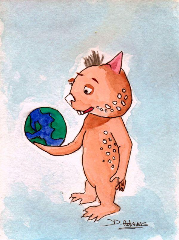 Fraz Gets The World by Debbie Adams