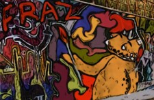 Graffiti Fraz by Debbie Adams