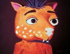 Fraz's Portrait by Debbie Adams