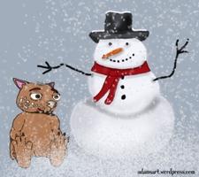Fraz's Snowman by Debbie Adams