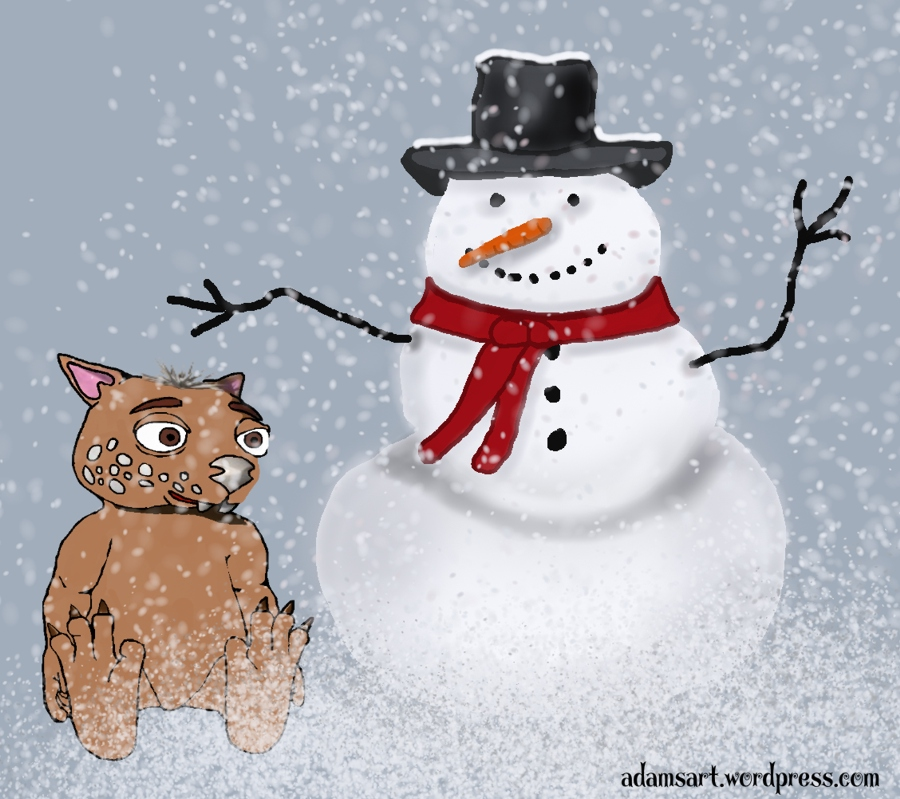 Fraz's Snowman by Debbie Adams