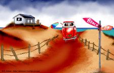 Fraz's Beach House by Debbie Adams